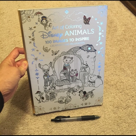 Disney Office Art Of Coloring Disney Animals Poshmark